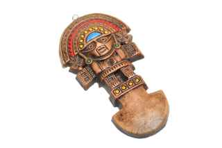 Aztec good luck charm