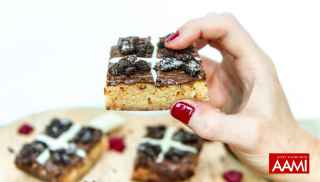 Hot cross brownies by Cheat Yo'self