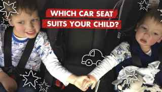 Which car seat suits your child?