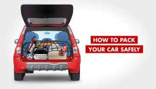 How to pack your car safely