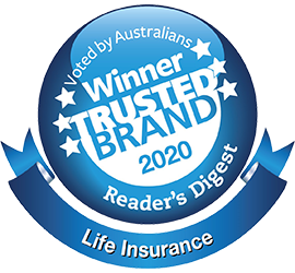 Reader's Digest Trusted Brand Winner - Life Insurance