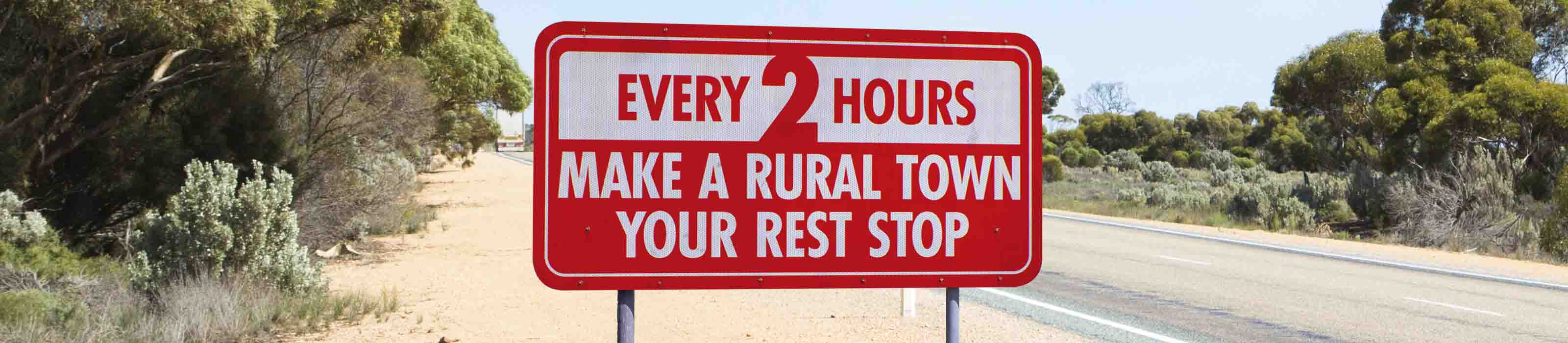 Make a rural town your rest stop
